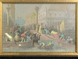 Group 3 Framed Prints of Venice, Italy
