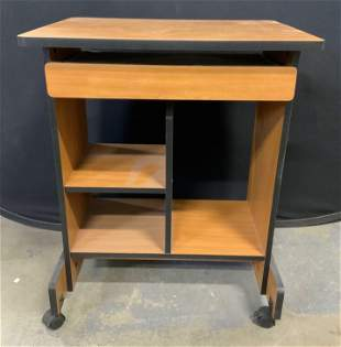 End Table On Wheels