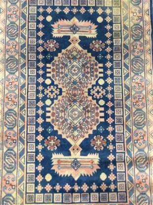 Vintage Oriental Style Throw Rug