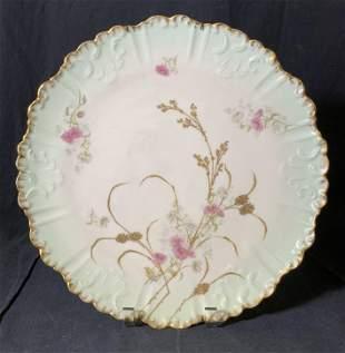 Antique LIMOGES FRANCE Porcelain Plate