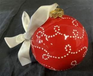 Kinga Czerska Signed Christmas Ornaments