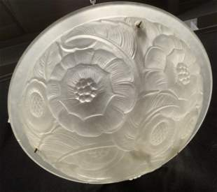 Frosted Glass Light Fixture