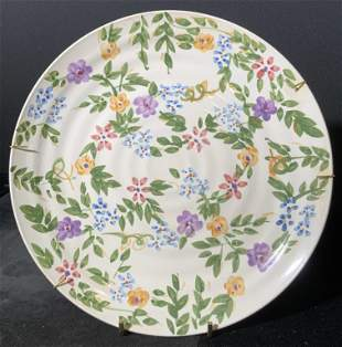 ALCO INDUSTRIES Hand Painted Porcelain Plate