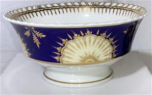 Early Antique Porcelain Gilt Bowl