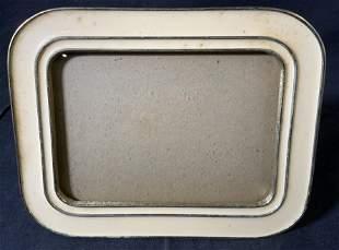 Vintage Enameled Picture Frame