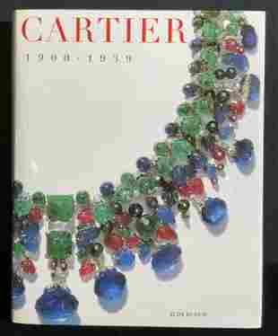 CARTIER 1900-1939 by Judy Rudoe, Coffee Table Book