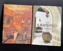 2 ALBERTO PINTO Interior Design Coffee Table Books