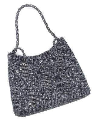INGE CHRISTOPHER Seed Beaded Ladies Shoulder Bag