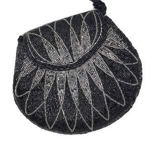 Seed Beaded Ladies Shoulder Bag