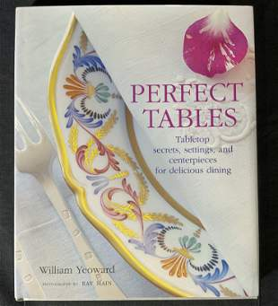 WILLIAM YEOWARD Signed Perfect Tables Book