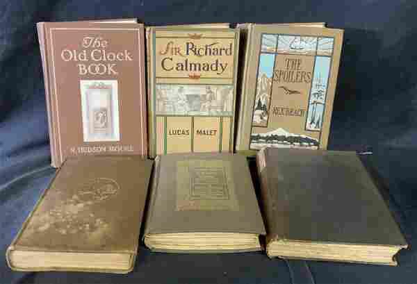 Group Lot Vintage & Antique Books