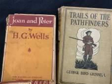 Group Lot 9 Vintage & Antique Books