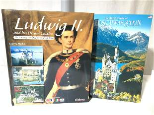 Collectible Books on German Castles, 3