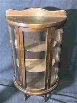 Wooden Tabletop Display Case