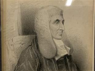 Portrait Lithograph Artwork