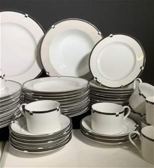MIKASA Midnight Ceramic Dinnerware Set 57