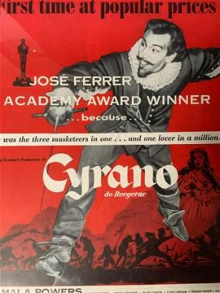 CYRANO DE BERGERAC Movie Poster Lithograph