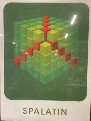 Geometric Lithograph: SPALATIN