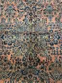 Antq Handmade Persian Sarouk Room Size Rug