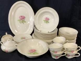 Set 40 Partial Dinner and Tea Service Dish Set