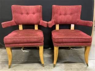 Set 4 Upholstered HENREDON Side Chairs