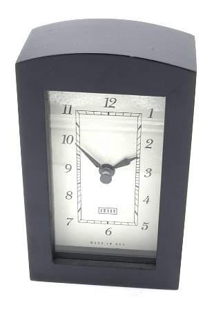 Vintage UMBRA Carriage Mantle Clock, Original Box