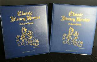 Lot Collect Classic DISNEY Movie Panels & Stamps