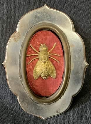 Vintage Napoleonic Bee Medallion