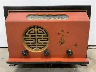 Vintage FTR Model 1540t Tube Radio