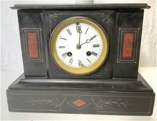 Vintage Slate Mantle Clock