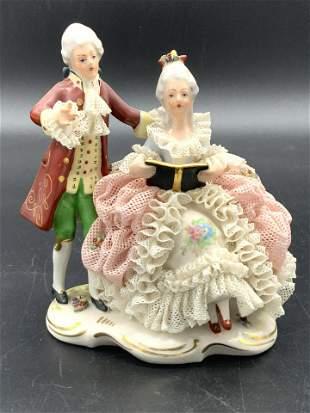 Signed MEISSEN German Porcelain Figural