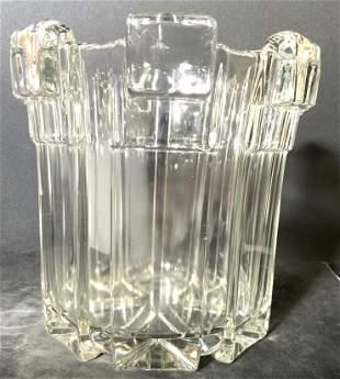 Mid Century Modern Glass Ice Bucket