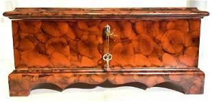 WILLIAMSBURG GLOBAL VIEWS Lacquered Jewelry Box
