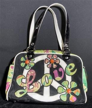ISABELLA FIORE Groovy 'Love' Ladies Handbag