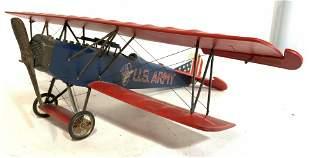 Vintage US Army Model Airplane