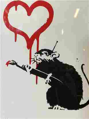 BANKSY Signed Ltd Ed Lithograph