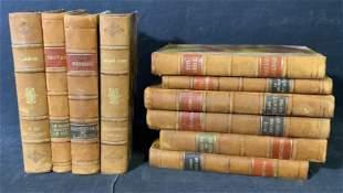 Group Lot Antique Book Set