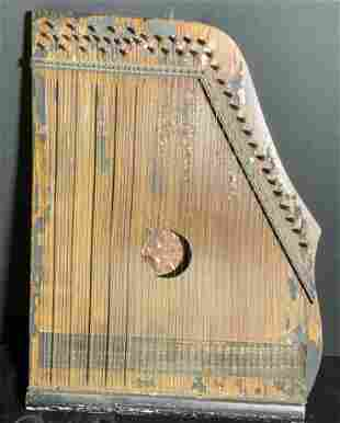 Antq La Gauloise Cithare, Zither String Instrument