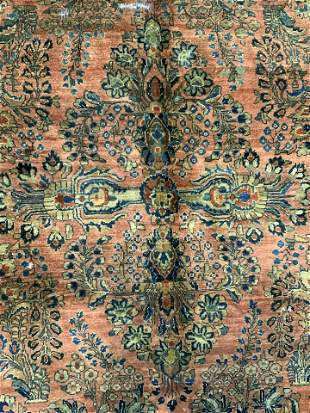 Antique Oversized Persian Wool Rug