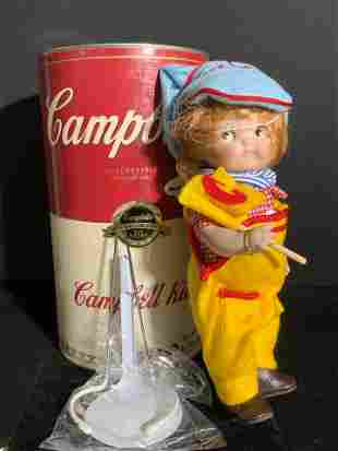 Collectible LE Vntg CAMPBELL KIDS Doll, Campbell's