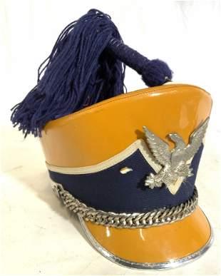 Vintage OSTWALD UNIFORM Marching Band Hat