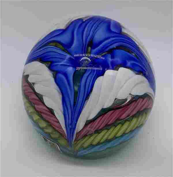 Colorful Murano Art Glass Paperweight