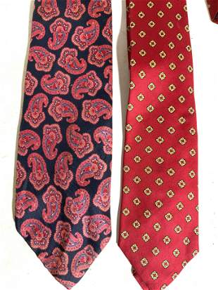 Lot 9 Assorted Men?s Silk Neckties
