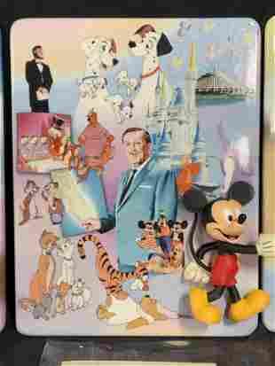 Group Lot 4 Ltd Ed 100 Anniversary Disney Plates