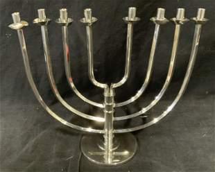 The Jewish Museum Pewter Ltd Ed Menorah