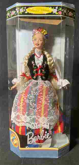 1997 Polish Barbie Doll Collectible