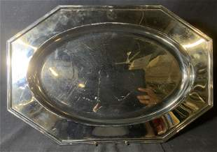 JEAN COUZON Stainless Steel Serving Tray