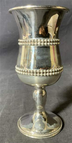 HAZORFIM Sterling Silver Cup