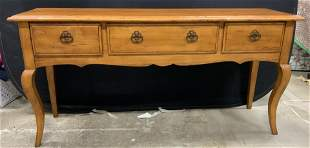 FREMARC French Country Style Console Table