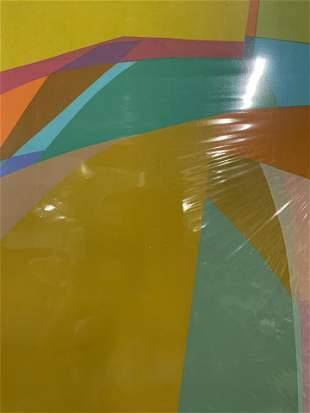 SABRA RICHARDS Signed Abstract Ltd Ed Lithograph
